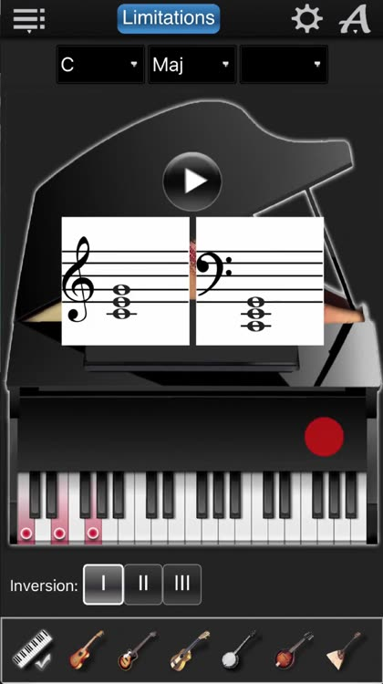 Chords Compass Lite Find Piano Chords And More By Max Schlee