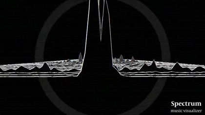 Spectrum - Music Visualizer by Y  MOCHIDUKI