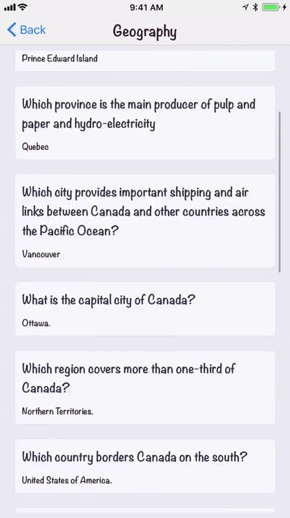 Canadian Citizenship Test 2018 by Techlis Systems Inc.