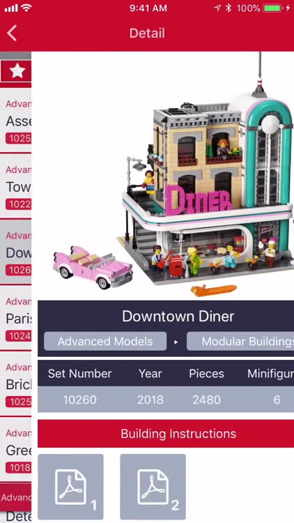 BrickSearch for LEGO Sets