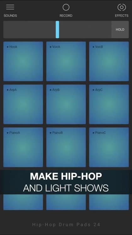 Hip-Hop Drum Pads 24