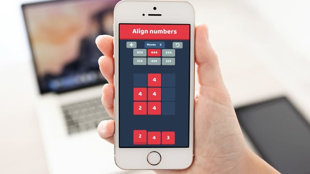 Line Up Your Numbers Right in Nuzzle - Sudoku Puzzle