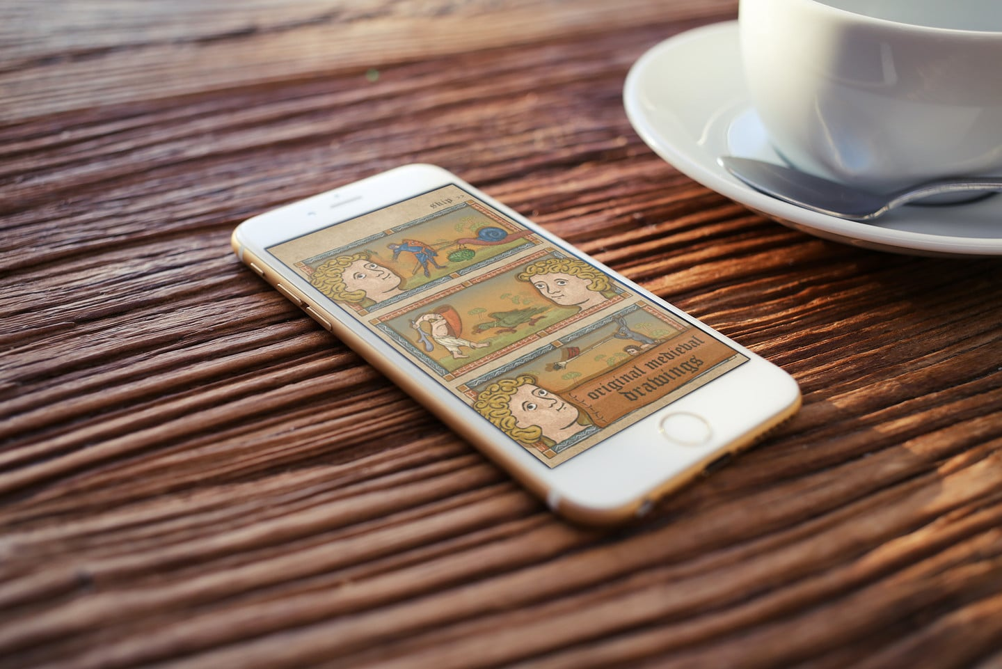 Head Back to Medieval Times in the New Game Marginalia Hero