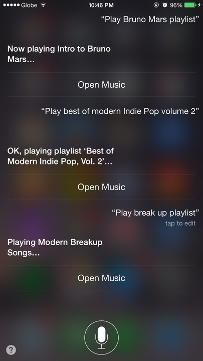 Siri, turn that playlist on.