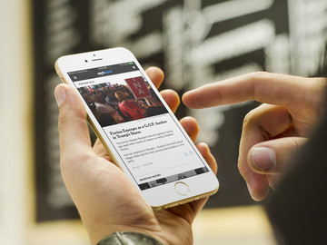The Best Breaking News App for iPhone