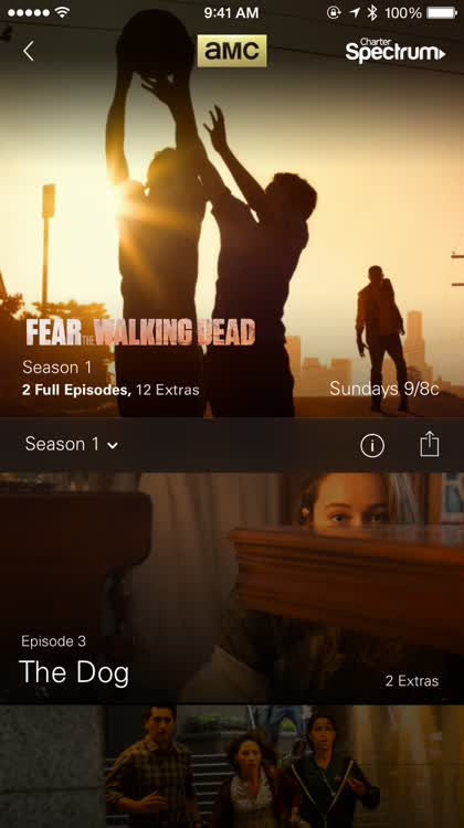 Full episodes and extras