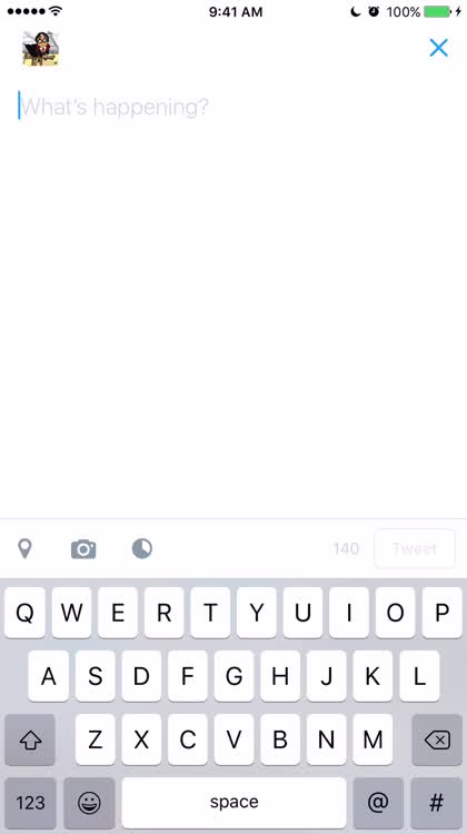 iOS keyboard character previews