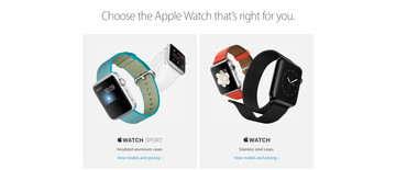 The Apple Watch Edition is apparently being downplayed online and at retail stores