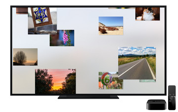 MyPixPo puts your Flickr and Facebook photos on Apple TV