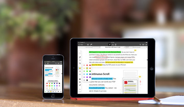 Readdle's PDF Expert updated with Handoff for iOS and Mac