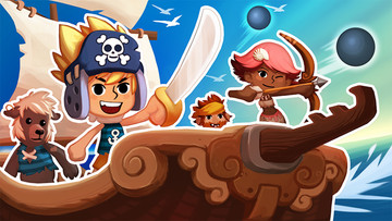 Happy Street and iBlast Moki developer Godzilab unleashes Pirate Power