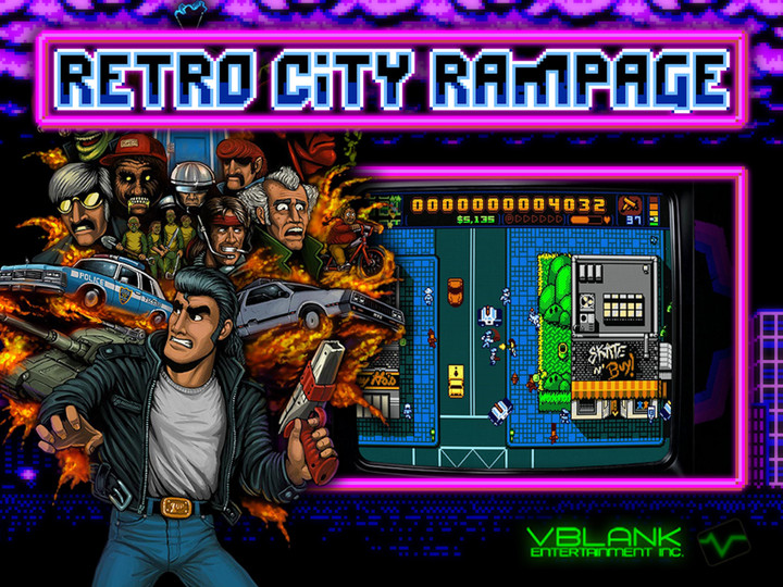 Retro City Rampage half sheet