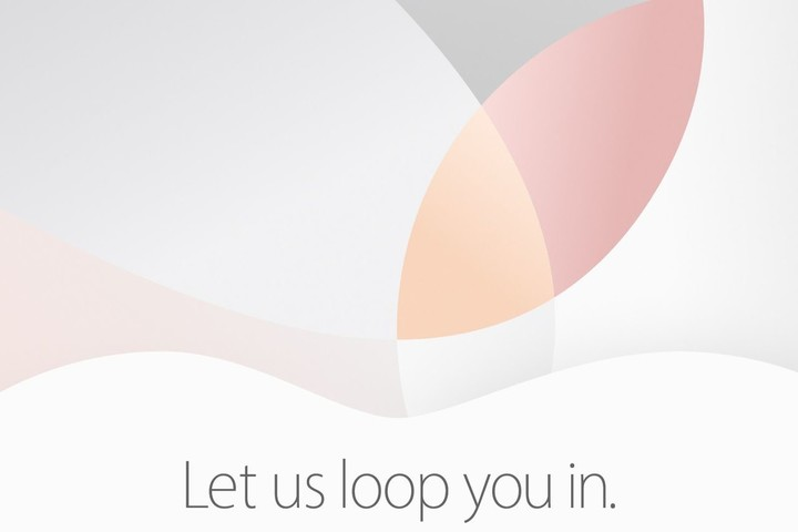 Official invitation to next Apple event