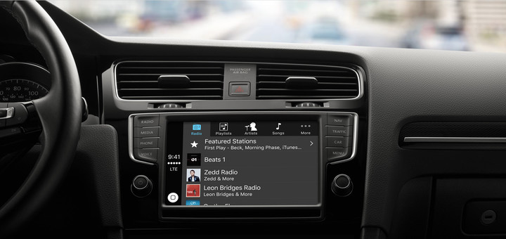 More the 100 different models now offer CarPlay.