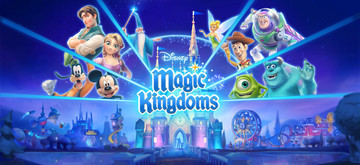 Create the theme park of your dreams in Disney Magic Kingdoms