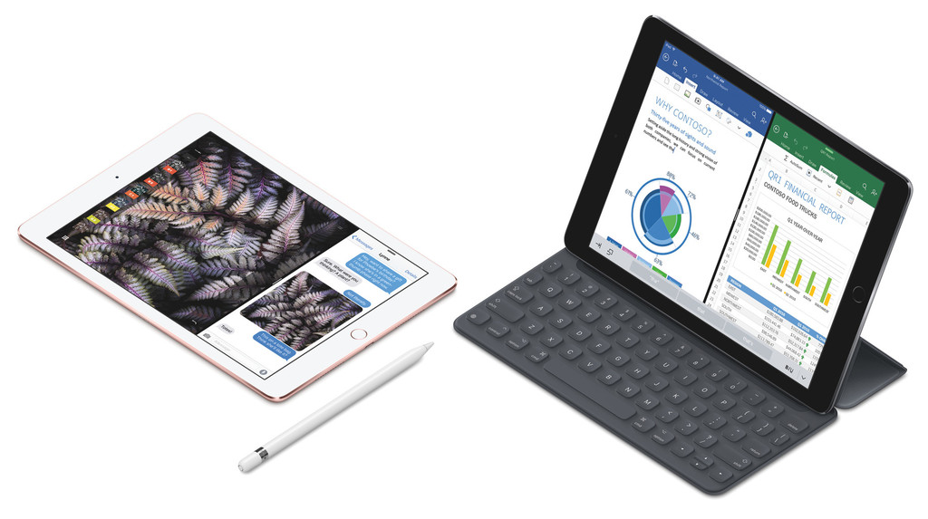 For the iPad Pro, it's a different story