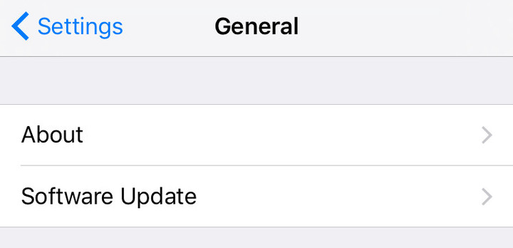 Updating your iOS software is an easy task