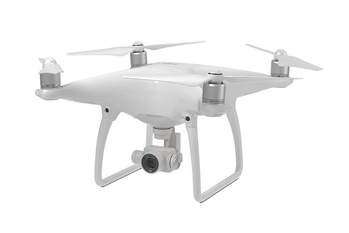 The drone can capture 4K video and high-quality images.