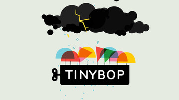Your kids will definitely get swept up in Weather by Tinybop