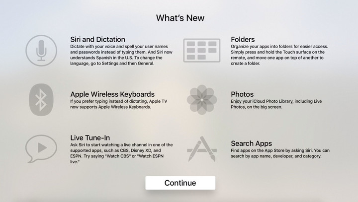 Apple is promoting the feature on the What's New screen.