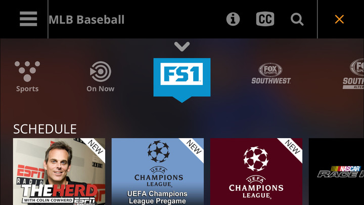 The multi-stream service can be accessed through the official iOS app or a number of other outlets.