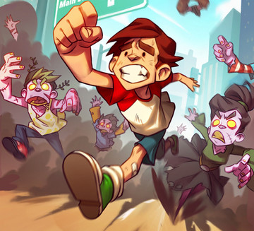 Outrun the Zombies or Become One in Undead City Run