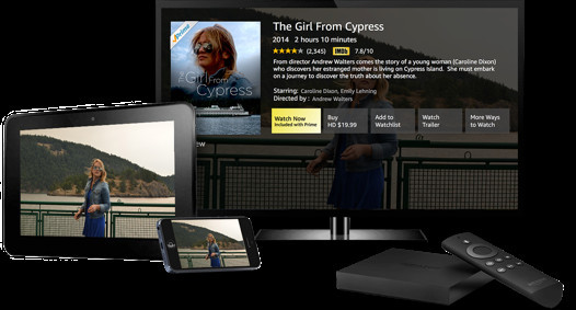 Amazon Direct Video content is available on a number of different platforms including the Fire TV, game consoles, through the official iOS app, and on the Web