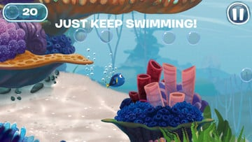 Finding Dory: Just Keep Swimming Dives Into the App Store with a Fun Underwater Adventure