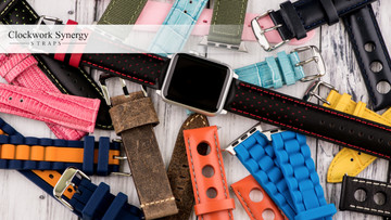 Fantastic Apple Watch Bands From Clockwork Synergy