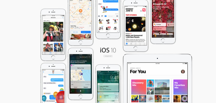 Currently in beta testing, iOS 10 will arrive to the public in the fall.