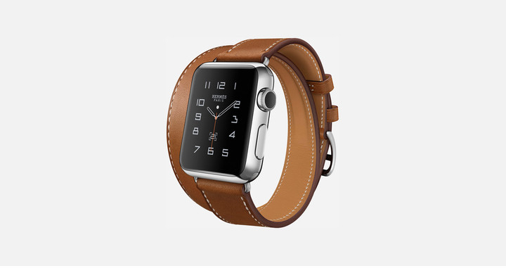 The Apple Watch features the new display technology.