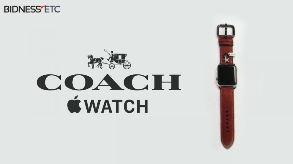 Coach Apple Watch Bands