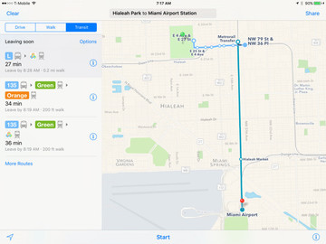 Apple Maps Transit Directions Come to UK's National Rail, Atlanta and Miami