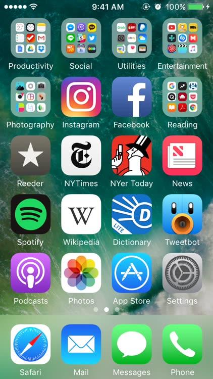 Siri My Info iOS 10