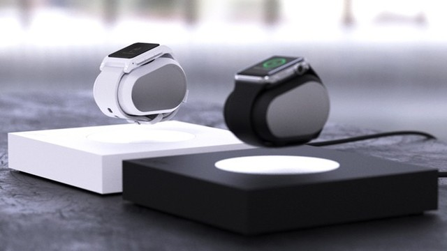 Levitating Anti-Gravity Apple Watch Charger Hits Kickstarter