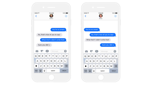 This iMessage Sticker Pack Lets You Put Words in Other People's Texts