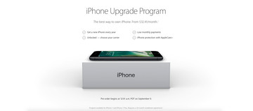 A Look at Apple's iPhone Upgrade Program