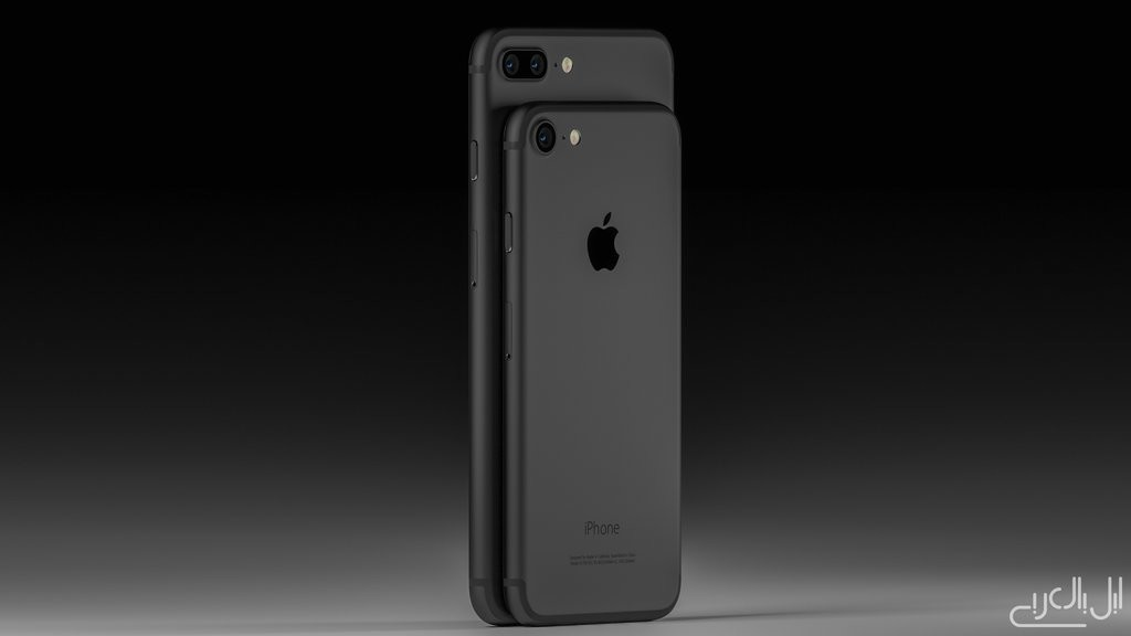iPhone 7 and iPhone 7 Plus render