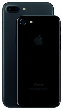 Side-By-Side Both iPhone 7 Models in Black Look Awesome