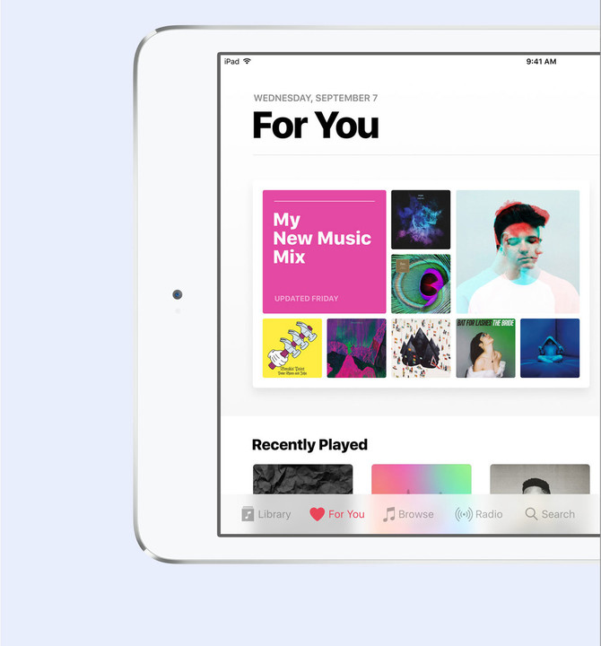 "Apple Music's ""For You"" feature is getting even better."