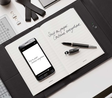 Montblanc Plows Into the Digital Age with Augmented Paper
