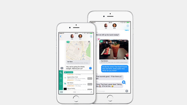 Search for Any Location Using Where To? for iMessage