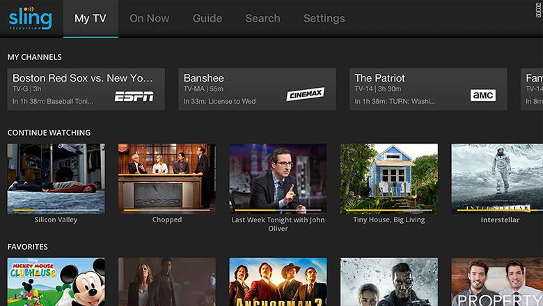 Sling TV Apple TV App