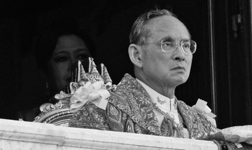 Apple's Thai Homepage Goes Black in Honor of King Bhumibol Adulyadej