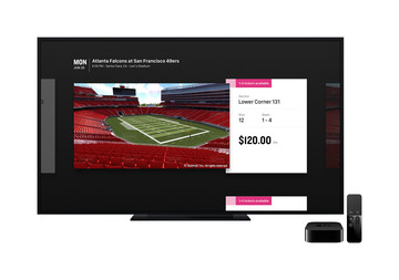 StubHub Lands on the Apple TV With Seat Previews and More