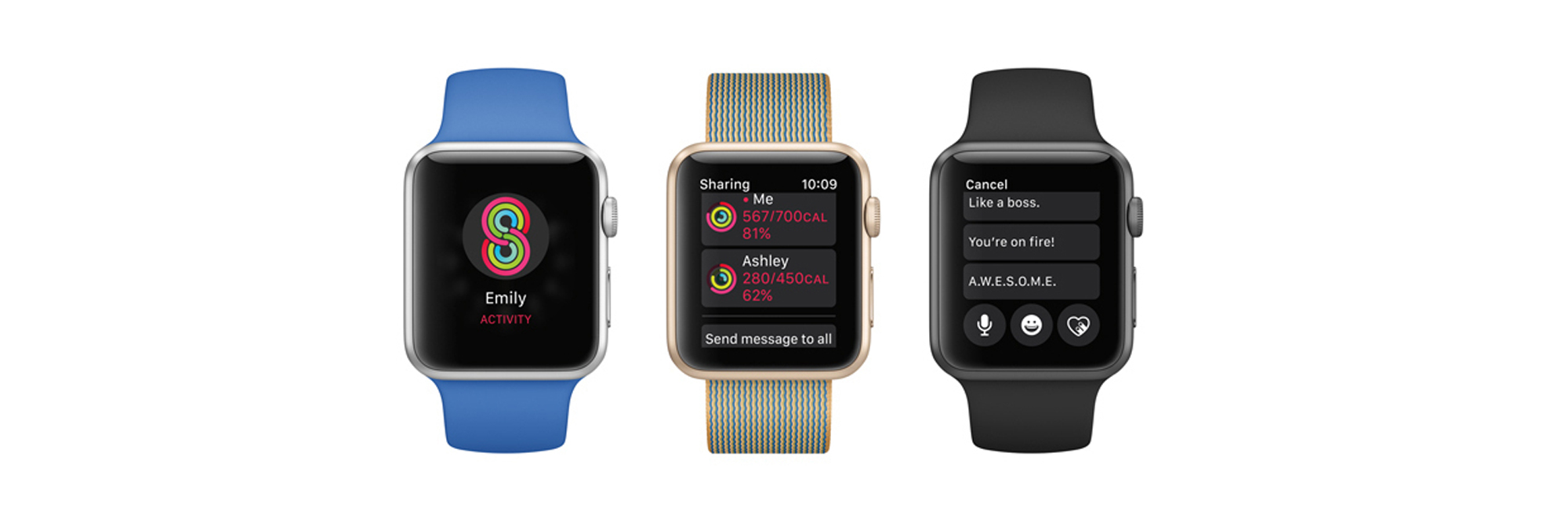 Sharing Apple Watch Activity with Friends and Family
