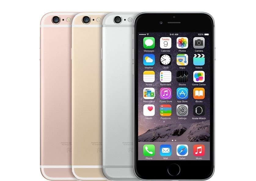 Refurbished iPhone 6s colors