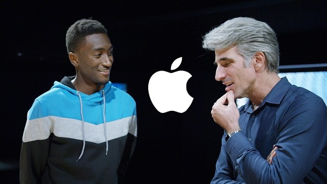 Marques Brownlee Chats with Apple's Craig Federighi
