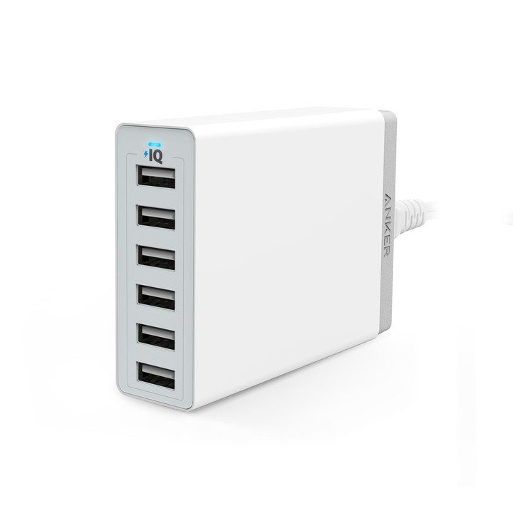 Anker 60W 6-Port USB Charger PowerPort