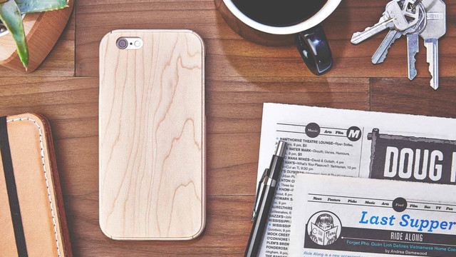 Grovemade Maple iPhone Case is Distinctive